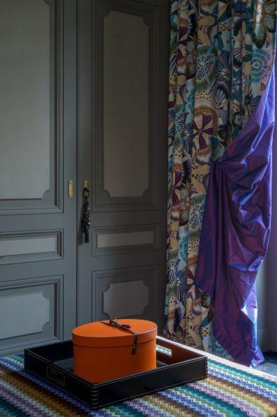 Pouf sur mesure tissu MISSONIHOME Murmure Lyon