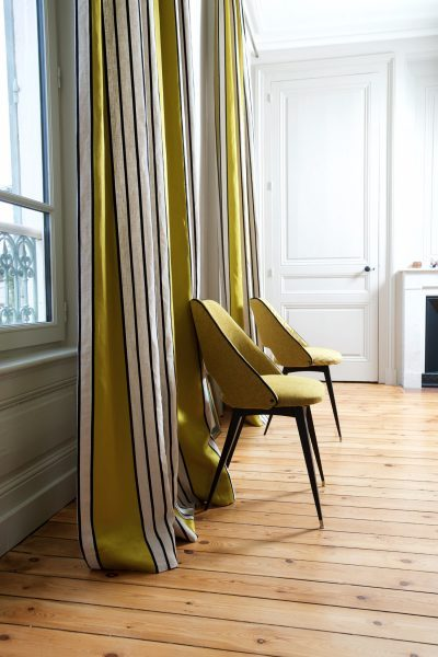 Tapissier décorateur Rhône Rideaux tissu PIERRE FREY